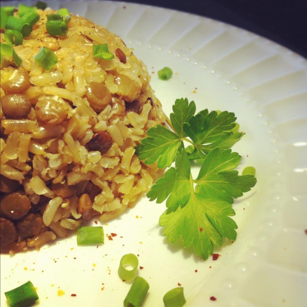 arroz integral com lentilha (5/5)