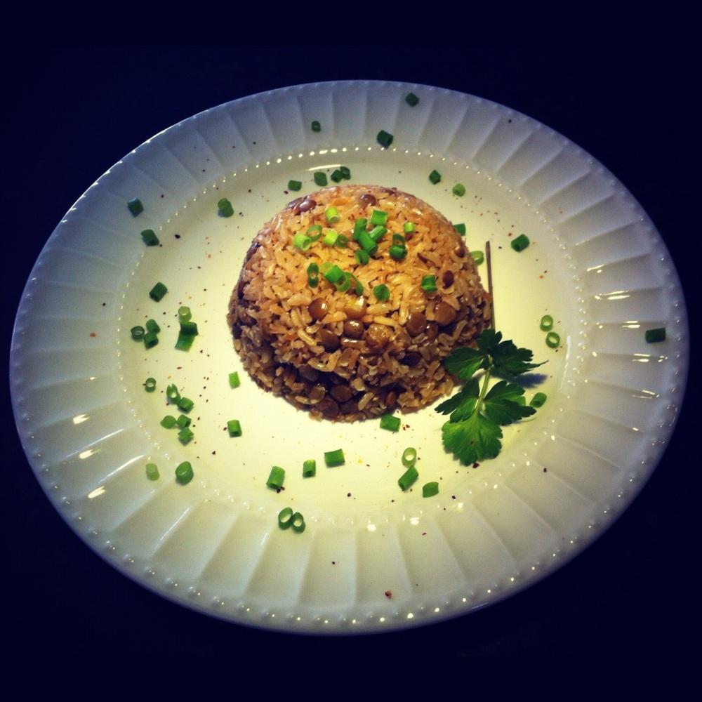 arroz integral com lentilha (3/5)