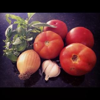 molho de tomate caseiro (2/6)